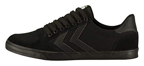 hummel Unisex Erwachsene Slimmer Stadil Tonal Low Sneaker, Schwarz, 44 EU
