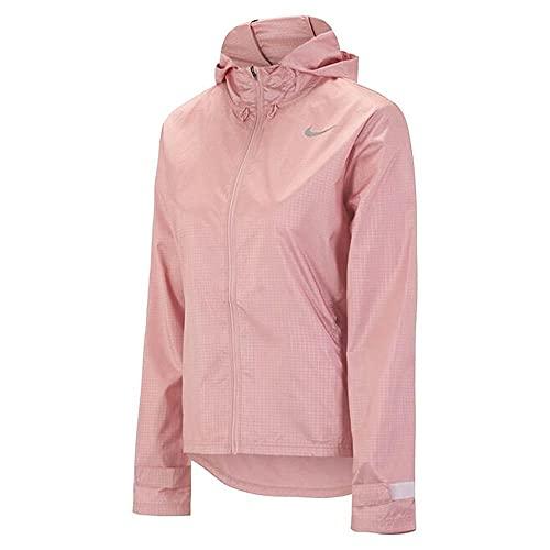 NIKE W Nk Essential Jacket Chaqueta, Pink Glaze/Reflective Silv, large para Mujer