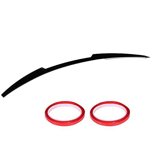 ERBV Alas de alerón, Accesorios de Coche, alas de alerón de Techo Trasero Negro Brillante, modificación de Coche para Mazda 6 Atenza 2018-2021 alerón