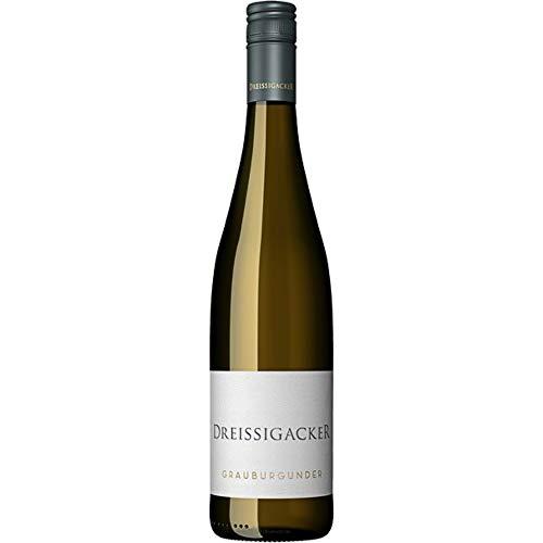 Dreissigacker Grauburgunder QbA Bio (1x 0,75l) Weißwein trocken