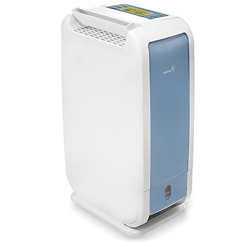 Ivation 19 Pint Small-Area Desiccant Dehumidifier Compact and Quiet - with Continuous Drain Hose for...