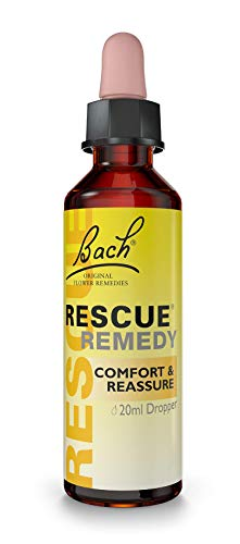 Rescue Remedy Dropper - Comfort And Reassure, Natural Flower Essences 20 ml