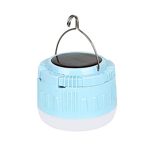 Jiudong Luz solar portátil para acampar, 30 W/50 W, luz de emergencia suspendida de camping, recargable por USB, luz de seguridad LED, para acampar/yarda/iluminación de aventura forestal
