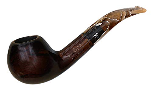 Butz Choquin Brumaire Brown Quarter Bent 1789 Tobacco Pipe