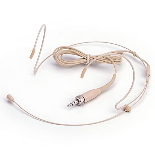 Sujeetec Auriculares Micrófono - Discreto Doble sobre Oreja Headworn...