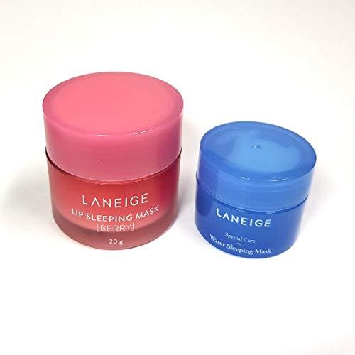 [Laneige] Máscara de dormir para labios 0.7 oz (20 g) + máscara para dormir de agua 0.5 oz (15 ml)