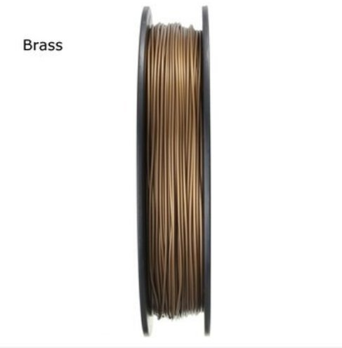 MASUNN 1.75Mm Pla 3D Printer Filament For Mendel Printrbot Reprap Prusa Sumpod - Brass