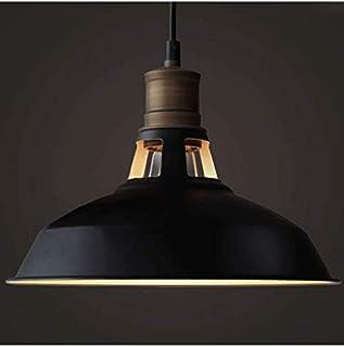 KOSILUM - Suspension gamelle noire - Aster - EN SOLDES ! - Lumière Blanc Chaud Eclairage Salon Chambre Cuisine Couloir - 1...