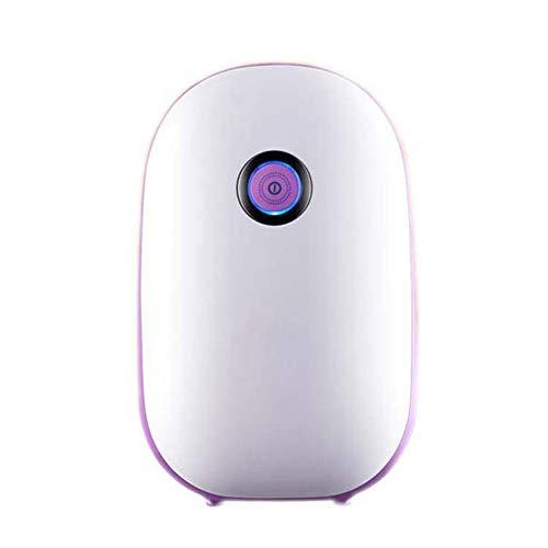 New HQYXGS Dehumidifier, 600Ml Portable Mini Electric Dehumidifier Ultra Quiet Air Cleaner for Home,...