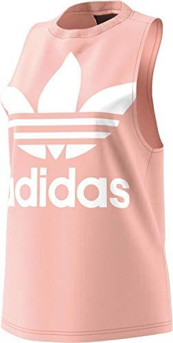 adidas Ce5583 - Camiseta de Tirantes para Mujer, Mujer, Camiseta de Deporte, CE5583, Rosa, 44