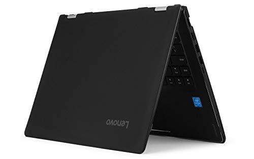 """mCover Hard Shell Case for 15.6"""" Lenovo Yoga 730 (15) Series 2-in-1 Laptop (Black)"""