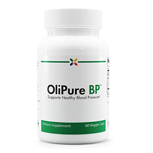 Stop Aging Now - OliPure BP - Olive Leaf Extract Blood Pressure Support Formula - 60 Veggie Caps
