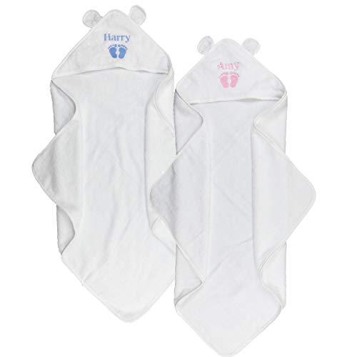 Personalisiert mit Kapuze Baby Handtuch Baby Geschenk Baby Andenken Weich Flauschig