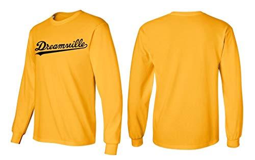 Long Sleeve 24 Black Dreamville Shirt J Cole Hip Hop T-Shirt M Yellow Gold