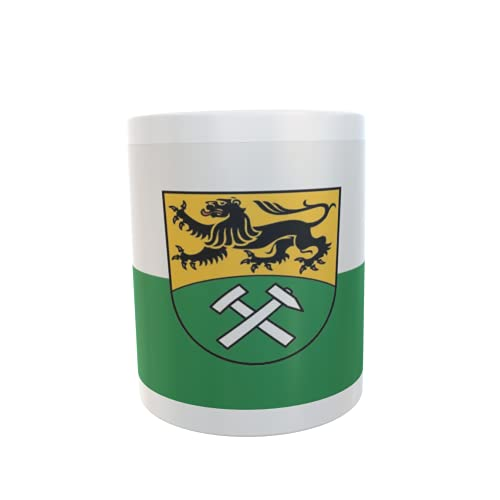 U24 Tasse Kaffeebecher Mug Cup Flagge Erzgebirgskreis