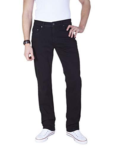 Pioneer - Herren 5-Pocket Jeans in der Farbe Schwarz, Regular Fit, Rando (1680 9403 05), Größe:W35/L32, Farbe:Black