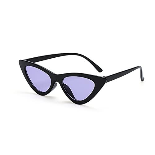 Akaid Gafas de Sol, Gafas de Sol de Moda de Verano, Montura pequeña, Gafas Retro polarizadas, Gafas de Sol con protección Solar al Aire Libre