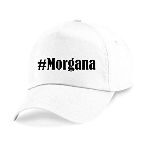 Reifen-Markt Base Cap Hashtag #Morgana Größe Uni Farbe Weiss Druck Schwarz