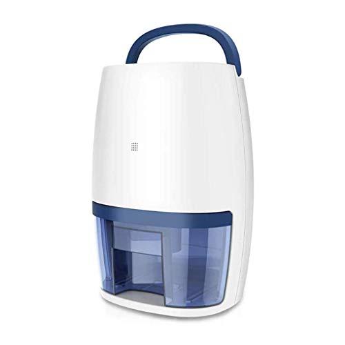 GGRYX Mini Deshumidificador, 1000 ml, Deshumidificador Electrico Silencioso Bajo Consumo, Deshumidificador Aire Pantalla Digital, para Habitaciones como El Hogar,White