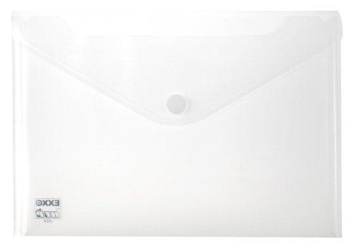fermeture velcro et Formation de pockets-pack perfor/ées Transparent 10 HFP 2 pochettes documents A5//A4 Lot de 5