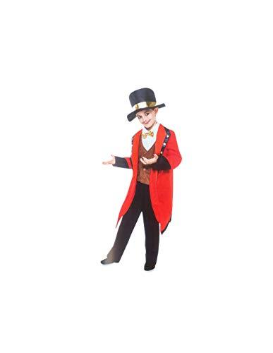 DISBACANAL Disfraz domador de Circo Infantil - -, 5-6 años