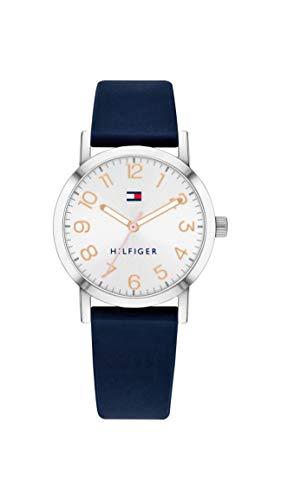 Tommy Hilfiger Reloj Analógico para Niños de Cuarzo con Correa en Silicona 01782175