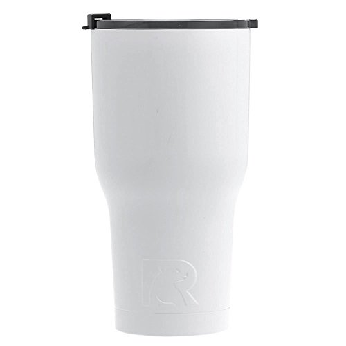 RTIC Double Wall Vacuum Insulated Tumbler, 30 oz, White