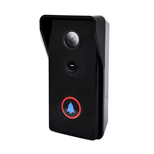 DBSCD Drahtlose Video-Türklingel, Infrarot-Nachtsicht, IP65-Wasserdichte Anti-Diebstahl-Remote-Videoüberwachungs-Intercom-Funktion, 3 Monate Batterielaufzeit