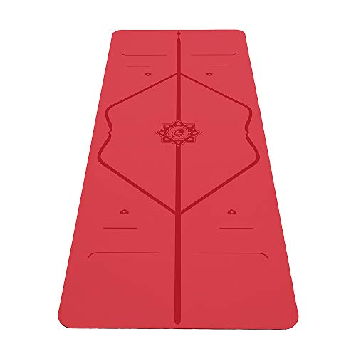 commercial Liforme Love Yoga Mat-Patented Leveling System, Military Grip, Non-Slip, Environmentally Friendly … liforme yoga mat