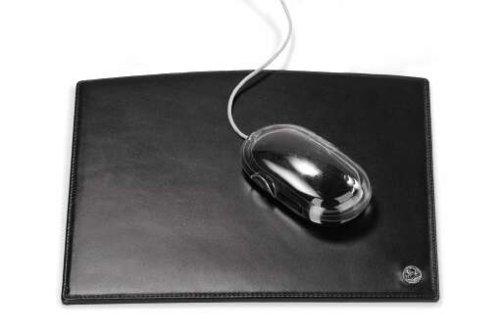 El Casco Mousepad - Leder schwarz