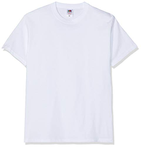 Fruit of the Loom Valueweight T-Shirt Weiss XXL