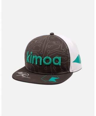 Kimoa Fernando Alonso - Gorra (talla única), color gris