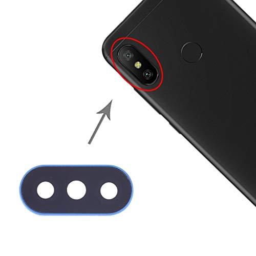 DaiMai 10 fundas para lentes de cámara Xiaomi Redmi 6 Pro/MI A2 Lite (negro) WH (color: azul)