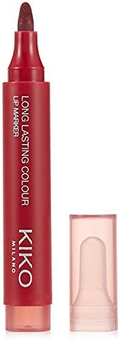 KIKO Milano Long Lasting Colour Lip Marker 106 | Feutre à Lèvres Sans Transfert, Effet Tatouage Naturel, Ultra-Longue Durée (10 Heures)