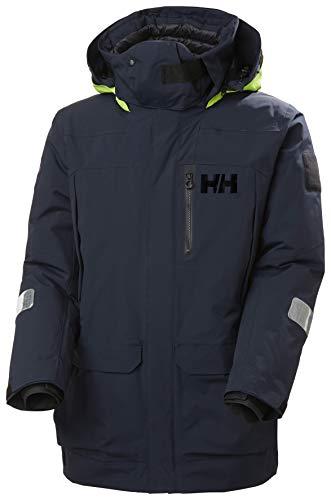 Helly-Hansen Mens Arctic Ocean Waterproof Sailing Parka Jacket, 597 Navy, XX-Large