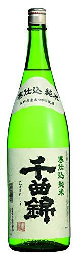 千曲錦 純米 寒仕込 1.8L