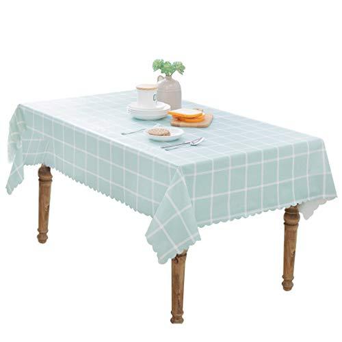 FEOYA - Decoración de Mesa Mantel Antimanchas Impermeale a Prueba de Calor de Estilo Simple Durable Decoracón de Cocina Salón Cómodo