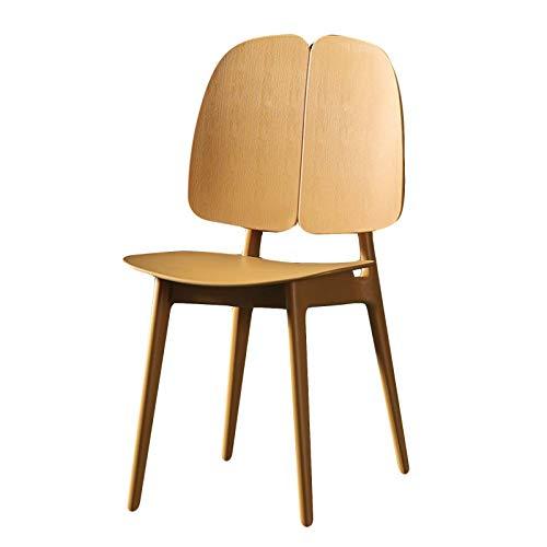 XIAOQIAO Sedie da Pranzo Moderne ed Eleganti Sedie da Banco da Cucina Lounge Tempo Libero Soggiorno Sgabelli Angolari, Materiali in PP di Alta qualità, Schienale Ergonomico