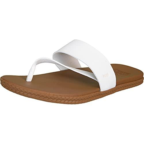 Reef Cushion Bounce Sol - Sandalias para mujer, color Blanco, talla 41 EU