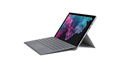 Microsoft Surface Pro 6 12.3-Inch Tablet - (Silver) (Intel Core i5, 8 GB RAM, 256 GB SSD, Intel UHD Graphics 620, Windows 10 Home) with Signature Type Cover - Platinum