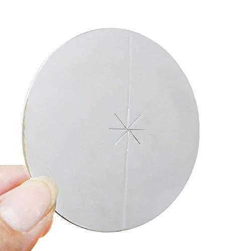 Big Church Candles Drip Protectors Ear Candles Disc for Ear Candling Protector Discs Big Size 5.1', Heat Reflect 14 Pcs