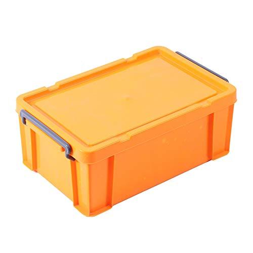 Qqmora Caja de Almacenamiento Caja de Soporte de Herramientas práctica y Duradera Organizador de Maletero Accesorio de automóvil para automóvil doméstico