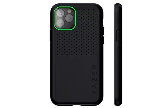 Razer Arctech Pro Black - für Apple iPhone 11 Pro Max (Schutzhülle mit Thermaphene Perfürmance Technologie, zertifizierter Schutz bei Stürzen, verbesserte Smartphone Kühlung), Schwarz