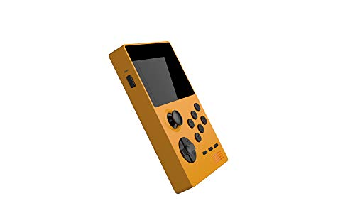 nobrand Retroid Pocket - Handheld Retro Gaming System/Dual Boot Open Android+Carrying Case/ SD Card/Tempered Glass/OTG (Yellow)