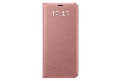 Samsung EF-NG955PPEGWW - Original Coque Étui LED View pour Galaxy S8+ (S8 Plus), Rose