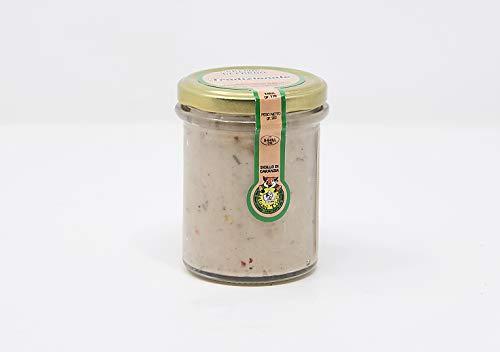 Crema di Lardo Tradizionale | vasetto da 200 gr. | Prodotto spalmabile tipico Toscano | Salumificio Artigianale Gombitelli - Toscana