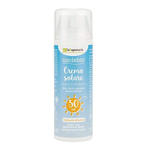 Crema solare bimbi e pelli sensibili SPF 50 - La Saponaria