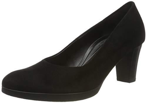 Gabor Damen Comfort Fashion Pumps, Schwarz (Schwarz 17), 37.5 EU