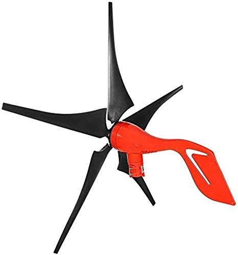Turbina de Viento, 400W / 800W 12V / 24V Turbina de viento horizontal con 5 cuchillas Opcionalmente imán Permanente Turbina de viento, Controlador for Solar Streetlight Generador de turbinas de viento