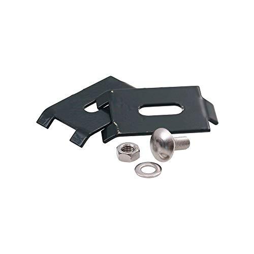 5x Eckverbinder Mattenverbinder für Gittermatten Zaun Zäune anthrazit